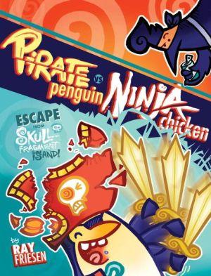 Pirate Penguin vs Ninja Chicken, Volume 2: Escape From Skull-Fragment Island!