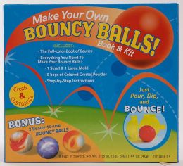 Make Your Own Bouncy Balls! Book & Kit