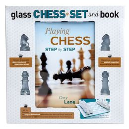 Glass Chess Book and Kit