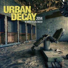 2014 Urban Decay Wall Calendar