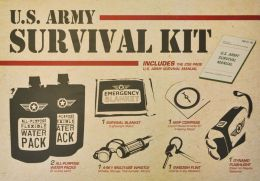 U.S. Army Survival Book & Kit