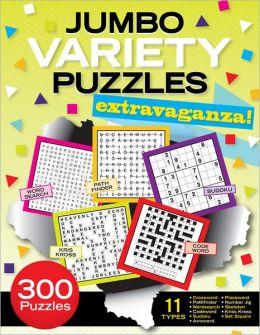 Jumbo Variety Puzzles Extravaganza!