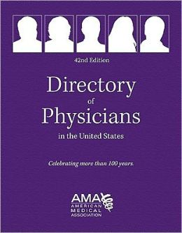 Directory of Physicians in the United States 4-Vol Set