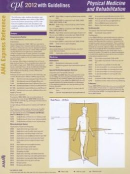 CPT 2012 Express Reference Coding Card: Physical Therapy