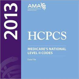 HCPCS 2013 Level II Codes on CD-ROM (Single User)