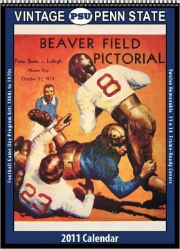2011 Oregon State Beavers Vintage Football Wall Calendar