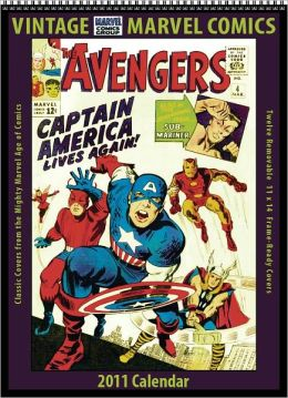 2011 Marvel Comics Vintage Wall Calendar