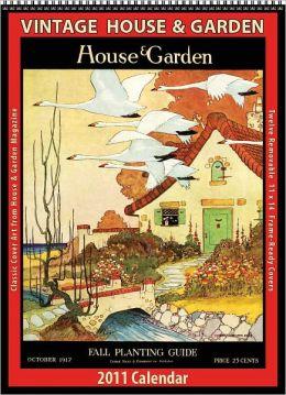 2011 House & Garden Vintage Wall Calendar