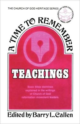 A Time to Remember: Teachings