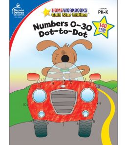Numbers 0-30: Dot-to-Dot