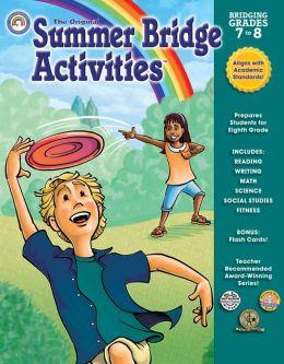 Summer Bridge Activities Grades 7-8
