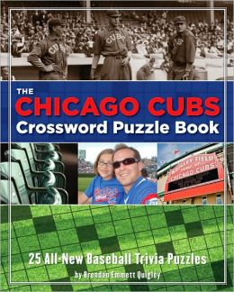 Chicago Cubs Crossword Puzzle Book