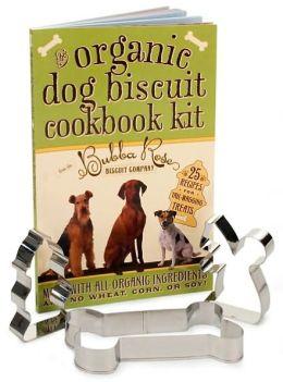 Organic Dog Biscuit Cookbook Kit
