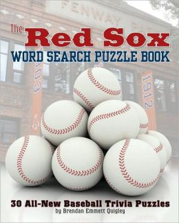 Red Sox Rule! Word Search Puzzle Book
