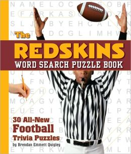 The Redskins Word Search Puzzle: 30 All New Football Trivia Puzzles