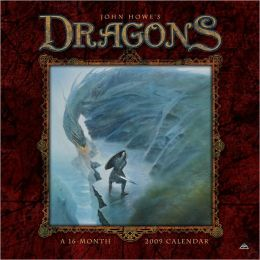 2009 John Howe's Dragons Wall Calendar