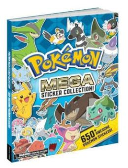 Pokemon Mega Sticker Collection