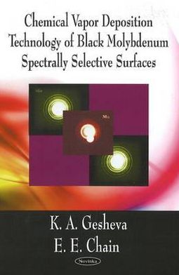 Chemical Vapor Deposition Technology of Black Molybdenum Spectrally Selective Surfaces