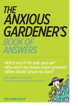 The Anxious Gardener's Book of Answers