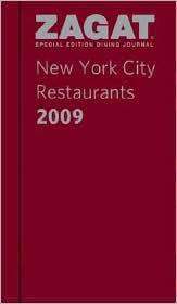 2009 New York City Restaurants Dining Journal