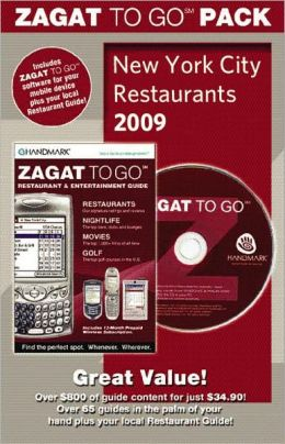 ZAGAT To Go Pack 2009 New York City Restaurants