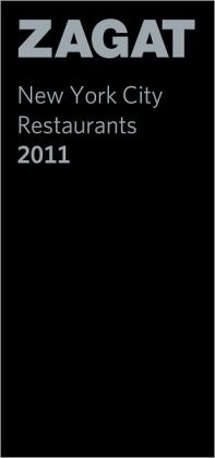 Zagat New York City Restaurants 2011 (Leather)