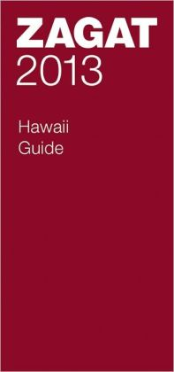 Zagat Hawaii 2013