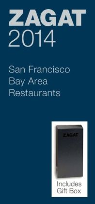 Zagat San Francisco Bay Area Restaurants Blue Deluxe Gift Box 2014