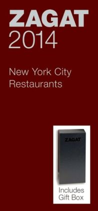 Zagat New York City Restaurants Red Gift Box 2014
