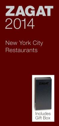 Zagat New York City Restaurants Red Gift Box 2014