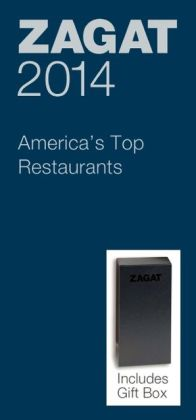Zagat America's Top Restaurants Blue Deluxe Gift Box 2014