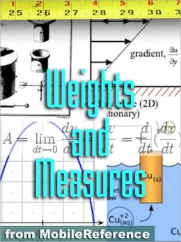 FREE Weights and Measures Study Guide : Conversion of over 1,000 units including Length, Area, Volume, Speed, Force, Energy, Electricity, Viscosity, Temperature, & more