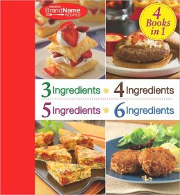 4 Books In 1: 3,4,5,6 Ingredients