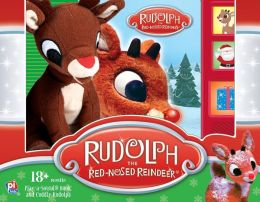 Rudolph the Red-Nosed Reindeer: Book Box and Plush
