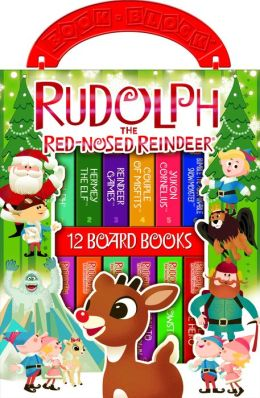 Rudolph the Red-Nosed Reindeer: 12 Board Books (Book Block Series)