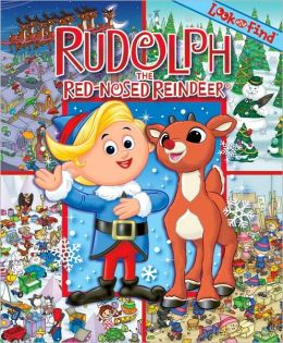 Rudolph the Red-Nosed Reindeer (Look and Find Series)