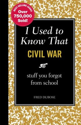 I Used to Know That - Civil War: Stuff You Forget from School