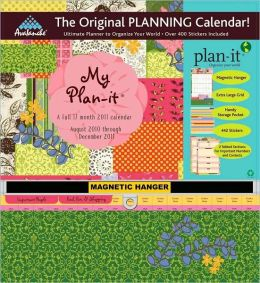 2011 My Plan-It Potpourri Plan-It Plus Wall Calendar