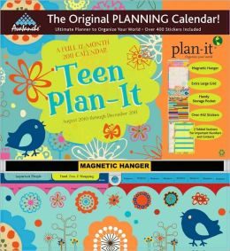2011 Teen Plan-It Plus Wall Calendar