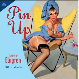 2011 Pin Up 7X7 Mini Wall Calendar