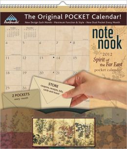 2012 Spirit Of The Far East Note Nook Calendar