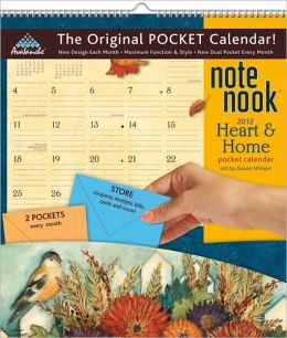 2012 Heart And Home Note Nook Calendar