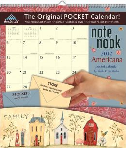 2012 Americana Note Nook Calendar