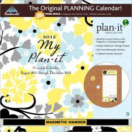2012 My Plan-It Floral Plan-It Plus Calendar