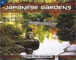 2012 Japanese Gardens 11x14 Wall Calendar