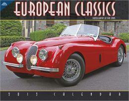 2012 European Classics 11x14 Wall Calendar Calendar