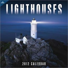 2012 Lighthouse 12x12 Wall Calendar