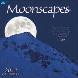 2012 Moonscapes 12x12 Wall Calendar