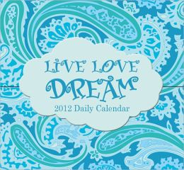 2012 Live Love Dream 365 Daily Mini Box Calendar