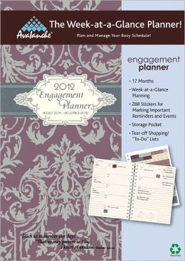 2012 Mom's Home Plan-It Scripture Engagement Planner Calendar